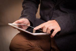Online geld lenen zonder bank via ipad
