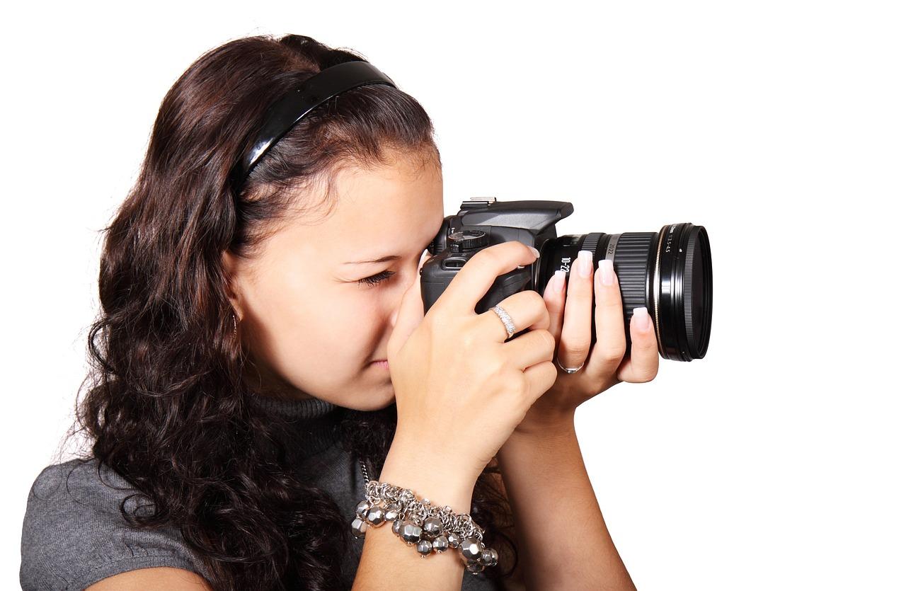 foto nemen met digitaal fototoestel